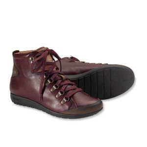 Pikolinos Lisboa Leather Lace Up Booties Sneakers